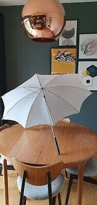 Vintage Photax Interfit White Light Bounce Umbrella Brolly, Boxed Perfect Condn.