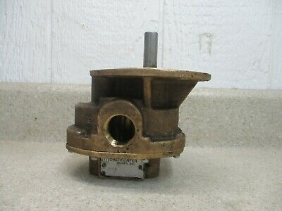 Oberdorfer 1'' Brass Gear Pump (Model:n990) #912957H Used