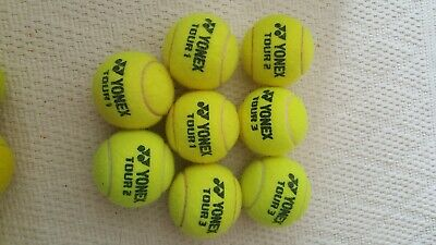 Used tennis balls ~ excellent condition ~ 8 ~  FREE POSTAGE!