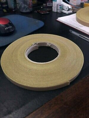 9mm x 30M x 5th Self Adhesive PTFE Glass Woven Tape Teflon NOS Sale Low Prices