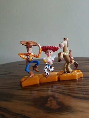 McDonald's Happy Meal Toy Story Woody Bullseye Jessie Puzzle Figurines Set of 3