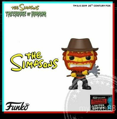 Funko Pop NYCC 2019 The Simpsons Treehouse of Horror Evil Willie PREORDER!