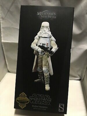 Sideshow Star Wars Empire Strikes Back 1/6 Snow Trooper Exclusive Mib Sealed!