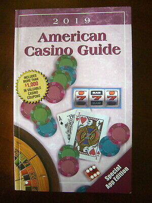 2019 AMERICAN CASINO GUIDE - only 3 coupons used