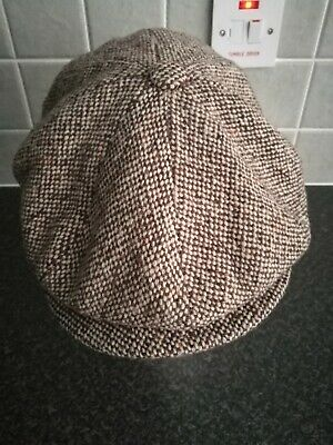 *RARE* Bailey Of Hollywood Panel Flat Cap Size Large rrp $60