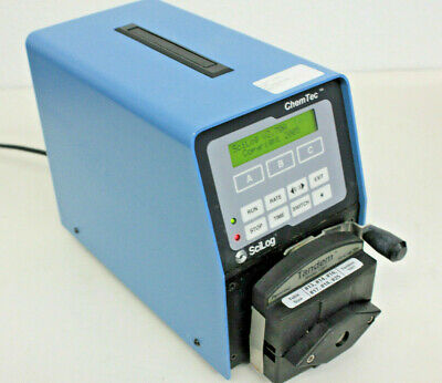 SciLog ChemTec Automated Metering System Peristaltic Pump / Tandem 1081 Head