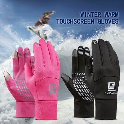 Ladies/mens Running/cycling, gloves, winter M,L,XL,reflective & touchscreen.