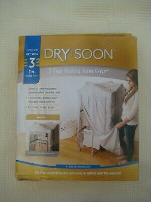Lakleland Dry:Soon 3 Tier Heated Airer Cover - NEW