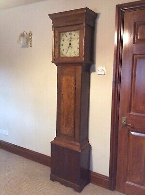 Antique Oak- Long case Clock by L.S.Scobell