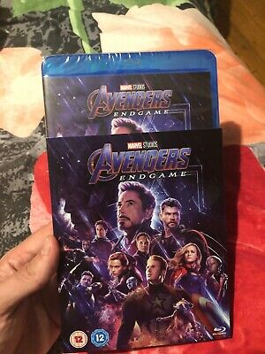 Avengers: Endgame [Blu-ray] (Brand New Sealed With Slip Cover)
