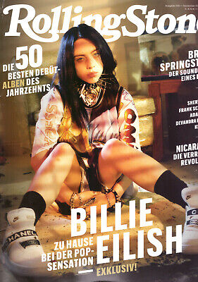 Billie Eilish front cover German Rolling Stone magazine September 2019 Germany