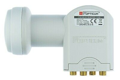 Test Winner Opticum Digital Quattro LNB for Multiswitch Full HDTV HD + 1080p 3D