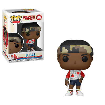 Funko POP! Vinyl Television Stranger Things LUCAS #807 Mall Outfit Free Shipping