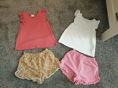 Next Girls Shorts And Top 9-12months