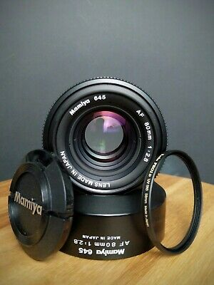"Mamiya 645 AF AFD 80mm f2.8 Lens ""near mint"""