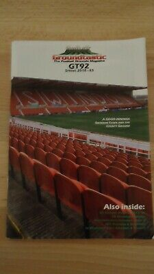 Groundtastic magazine GT92 Spring 2018