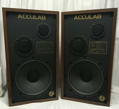 VINTAGE ACCULAB MODEL 340 Main Speakers