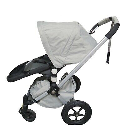 Gray Canopy Sun Shade Wires & Basket for Bugaboo Cameleon 1 2 3 Frog Strollers