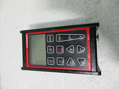 Swisson XMT-120 Tester/Controller Only powers up looks great