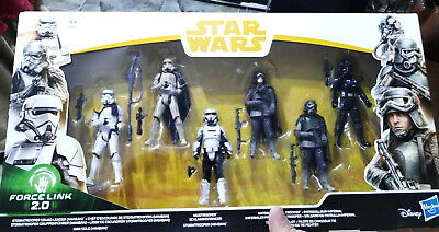 Pack 6 Figuras Star Wars Force Link 2.0 Solo Exclusivo Han Solo Mimban