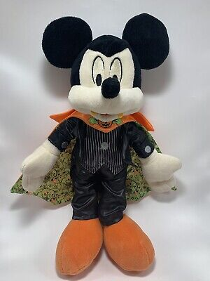 "Disney Parks Exclusive 2018 Mickey Mouse as Vampire Halloween 12"" Plush"