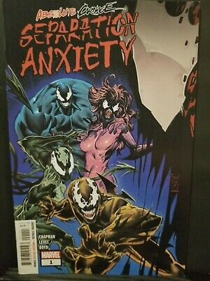 Absolute Carnage Separation Anxiety #1   First Print    Spider Man  Venom