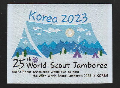 2023 World Scout Jamboree Promotion Patch /2019 world jamboree