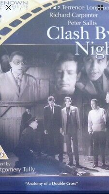 Clash By Night (1963) [Remastered & Restored] – DVD Renown As New