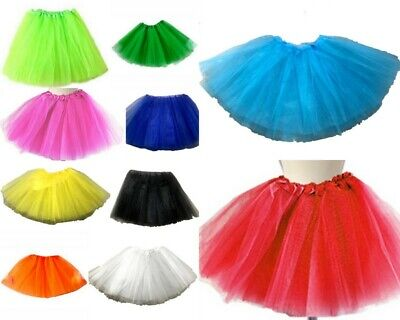 Adults' Kids 3 Layer Tutu Skirt Princess Pettiskirt Ballet Dancewear Costume