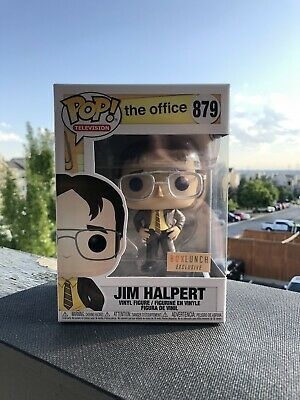 Funko Pop The Office Boxlunch Exclusive Jim As Dwight #879