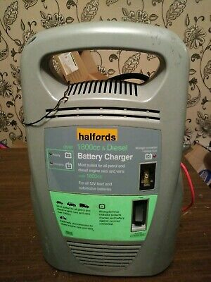 Halfords 12V Battery Charger