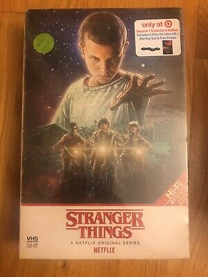 Stranger Things Season 1. 4 Disc 4k/Ultra HD Blu Ray & Poster Target Edition