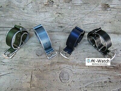 Nato G10 Nylon Premium, Divers, MOD, Military Watch Strap Band 18, 20, 22, 24mm