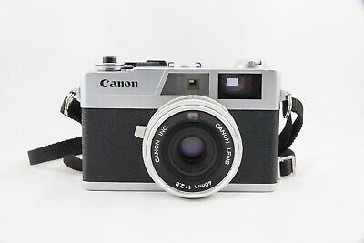 CANON CANONET 28 - Rangefinder Camera With Canon 40mm f/2.8 Lens - FULLY WORKING