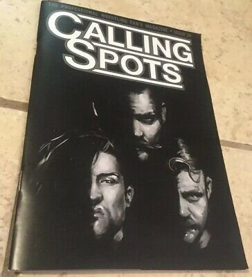 CALLING SPOTS - The Professional Wrestling Fans Magazine Issue 29 Wrestle Crate