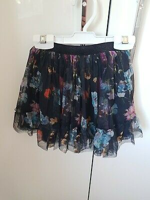 Girls next skirt with flower pattern size 1.5 / 2 years