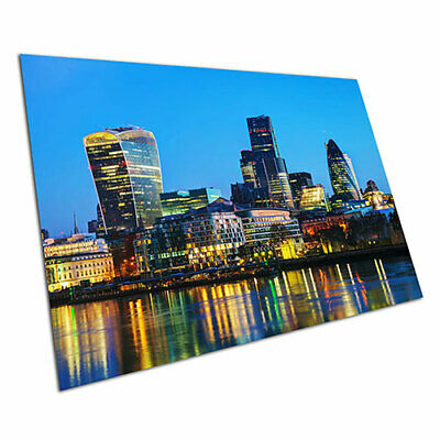 A4 City Of London Skyline The Shard Poster Size A4 City Art Poster Gift #16857