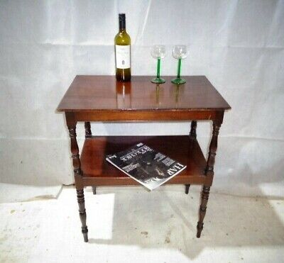 ANTIQUE VICTORIAN MAHOGANY SIDE TABLE SOFA TABLE c1880-1900 LAMP TABLE END TABLE