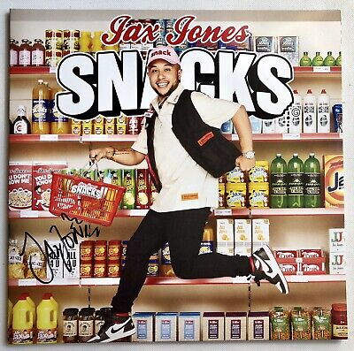 Jax Jones - Snacks New Signed Double Record Lp 2019  Autographed