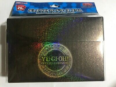 YuGiOh OCG Konami 20th Anniversary Duelist Card Case Slim Japanese SEALED