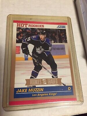2010-11 Jake Muzzin GOLD Version Score Rookie and Traded #648