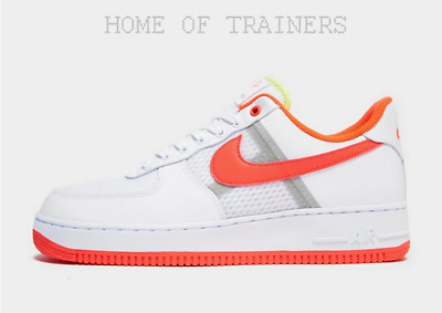 nike air force 1 blanche et orange homme