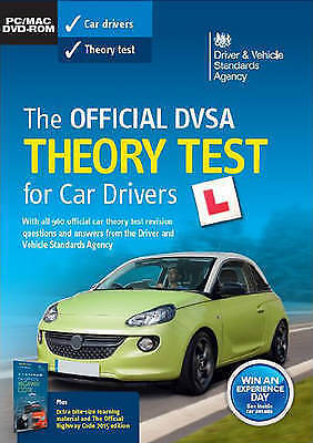 The Official DVSA DSA Theory Test For Car Drivers  PC CD MAC DVD FROM 2016 SEAL