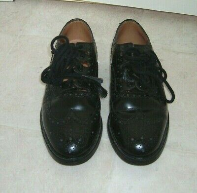 Mens Ghillie brogues leather size 7 Worn once!