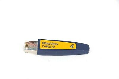 Fluke Networks Wireview #4 Optview Cable Id Number 4