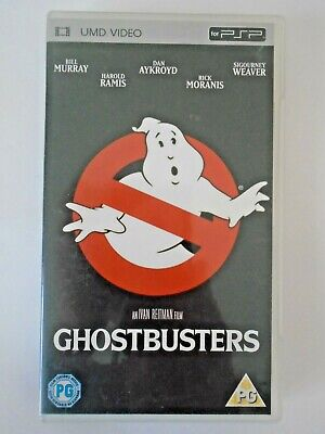 Ghostbusters for UMD Sony PSP, 2005 Film Movie - Classic 80s! in VGC