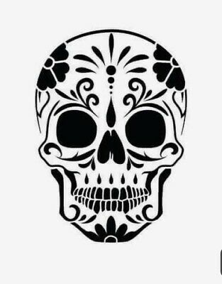 Imagination Crafts Sugar Skull stencil