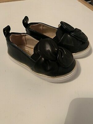 River Island Girls Bow Shoes Size 5