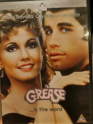 Grease DVD (2002) John Travolta, Kleiser (DIR) cert PG FREE Shipping Same day