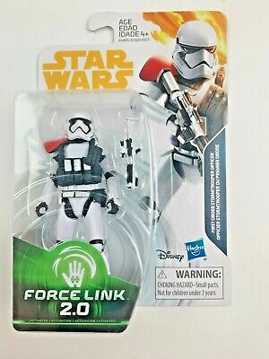 Star Wars Force Link 2.0 SOLO STORY 3.75 FIRST ORDER STORMTROOPER OFFICER